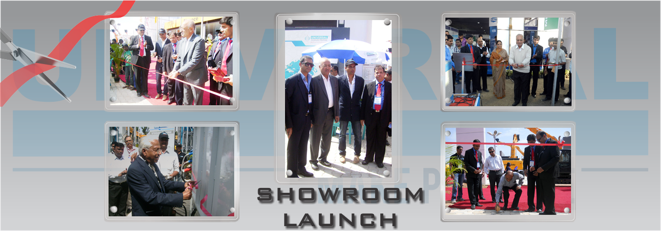 Showroom Launch Banner